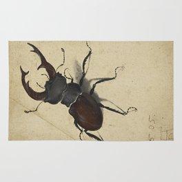 Stag Beetle - Albrecht Durer Rug