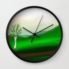The ticket Wall Clock