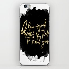 Oceans of Time iPhone Skin