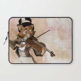 Fox and Fiddle Laptop Sleeve