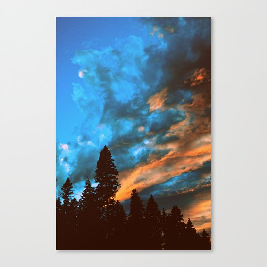 Skylights Canvas Print