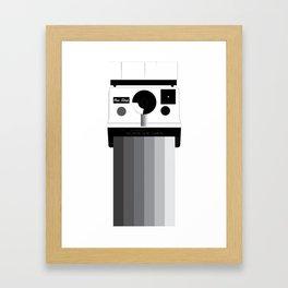 camera action  Framed Art Print