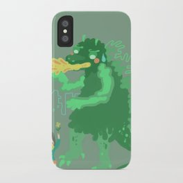 Godbilla iPhone Case