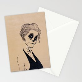 Don't mess with the dead Stationery Cards