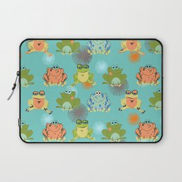 I love frogs Laptop Sleeve