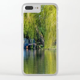 Boating Clear iPhone Case