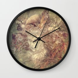 Element-mother earth Wall Clock