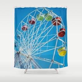 Carival Ferris Wheel Shower Curtain