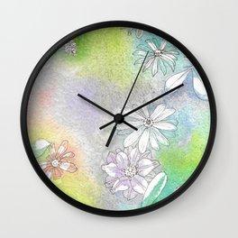 Pastel Reflections Wall Clock