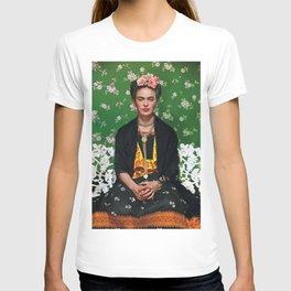 Frida Kahlo Flowery T-shirt