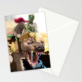 Pet Hyena Stationery Cards
