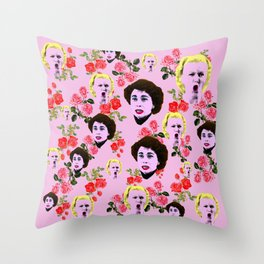 Mommie Dearest 'I Am Not One of Your FANS!' Throw Pillow