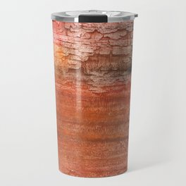 Sienna colored watercolor Travel Mug