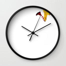 Danny Duncan Ronald McDonald Design Wall Clock