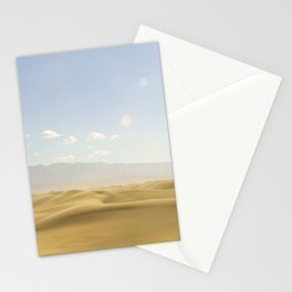 Desert in Death Valley Stationery Cards
