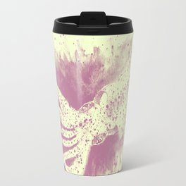 Purple squid ink Travel Mug