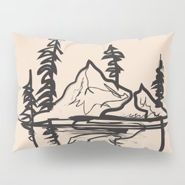 Abstract Landscpe Pillow Sham