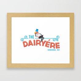 The Dairyére by Brenna Kaplan Framed Art Print