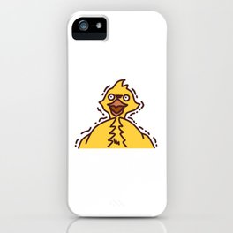 Scared Chocobo iPhone Case