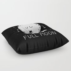 Full Moon Floor Pillow