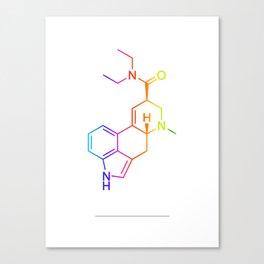 LSD color Canvas Print