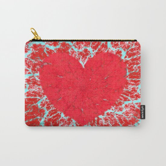 Frosty heart Carry-All Pouch