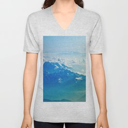 Mountain clouds 2 Unisex V-Neck