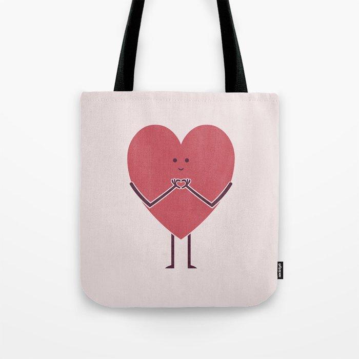 Heart Hands Tote Bag