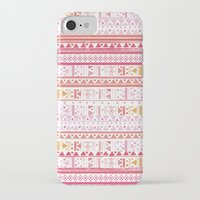 hippie iPhone & iPod Cases featuring HIPPIE BANDANA by Nika