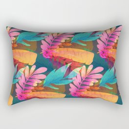 Tropical Leaves  14 Rectangular Pillow