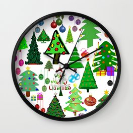 Oh Christmas Tree Wall Clock