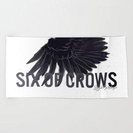 Six Of Crows Beach Towel