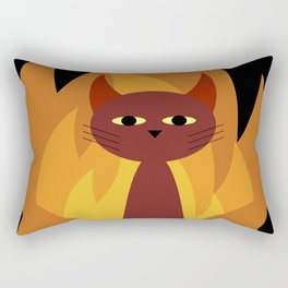Hell Cat Rectangular Pillow