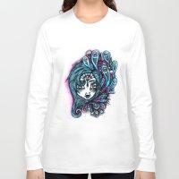bubblegum Long Sleeve T-shirts featuring Bubblegum by angelfurn