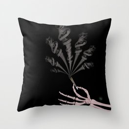Smokin Sativa Throw Pillow