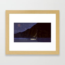 #11 Where No Man Has Gone Before - Sea of Stars Framed Art Print