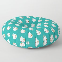 Ronnie the Rabbit Pattern Floor Pillow