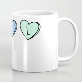 Kill Me Candy Hearts Coffee Mug