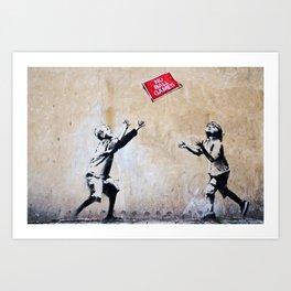 Banksy, Ball Games Art Print