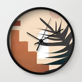 Abstract Elements 19 Wall Clock