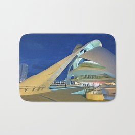 moon and architecture Bath Mat