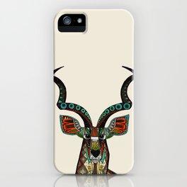 antelope ivory iPhone Case