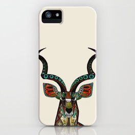 antelope ivory iPhone Case