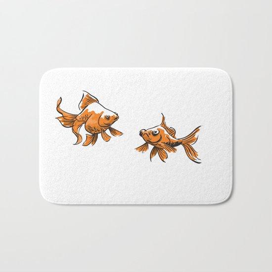 Brushed Goldfish Bath Mat
