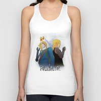 fullmetal Tank Tops featuring Fullmetal by Witchy