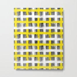 Simple plaid Metal Print