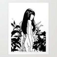 Wild nude Art Print