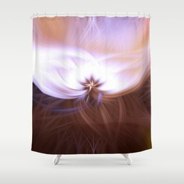 Twirling colours Shower Curtain