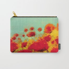 FLOWERS - Poppy time Carry-All Pouch