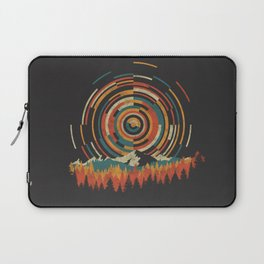 The Geometry of Sunrise Laptop Sleeve